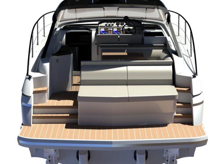 yacht sunbed