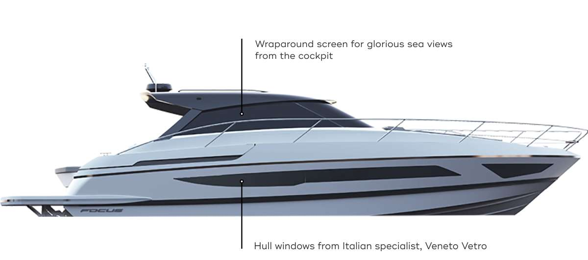 side view of boat render