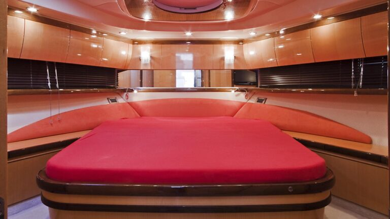 speed boat cabin